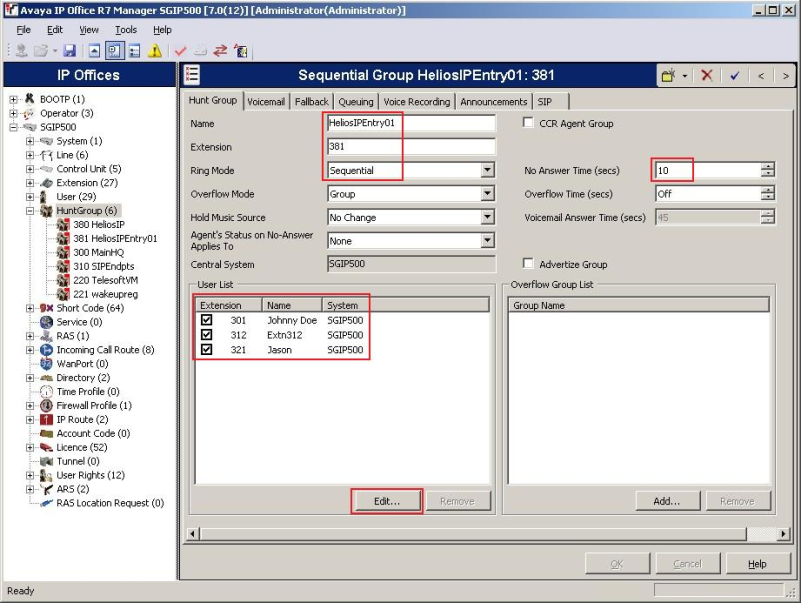 Avaya IP Office 7 0 - How to configure it with 2N® Helios IP
