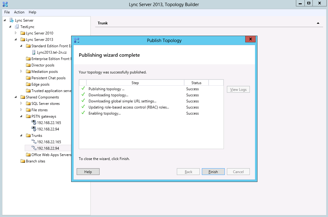 Microsoft Lync Server 2013 - How to configure it with 2N