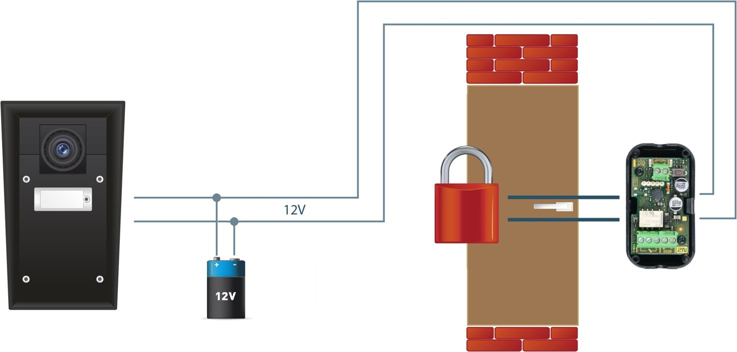 Security 2n Ip Relay What It Is And How To Use With Switch Polarity Programmed In A Such Way That Needs Receive Special Signal Code For Door Opening Only After Activates The Output