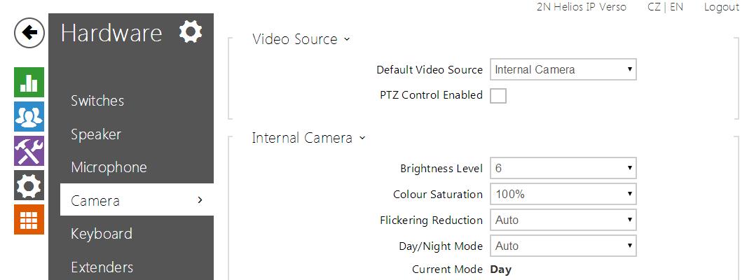 5 3 3 Camera - 2N® Helios IP Configuration Manual (version
