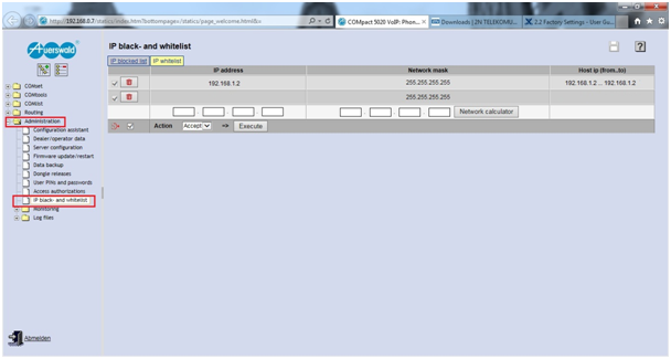 2N® VoiceBlue Next - How to configure it with Auerswald PBX? - FAQ
