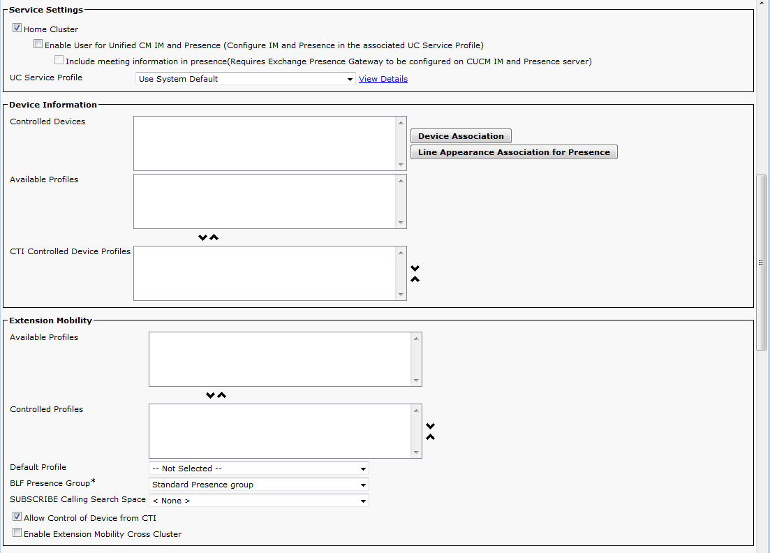 CUCM 11 - How to connect 2N® Helios IP as an extension? - FAQ - 2N WIKI