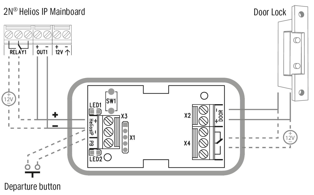 24 Extending Module Connection Installation Manual 2n Helios Ip Mini Intercom Circuit Diagram