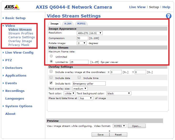 AXIS Q6044-E PTZ Dome Network Camera - How to connect