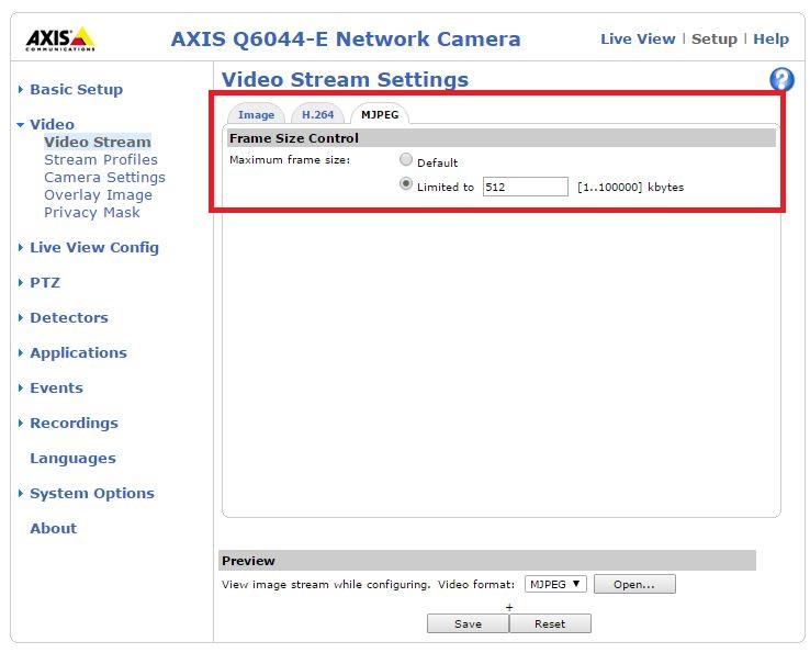 Rtsp camera axis