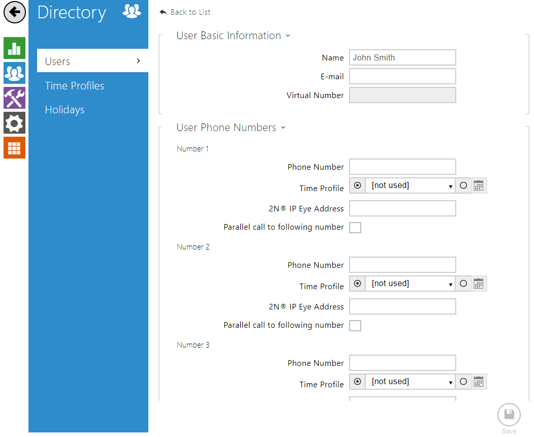 SIP Proxy - How to register 2N® IP Intercom to SIP Proxy server