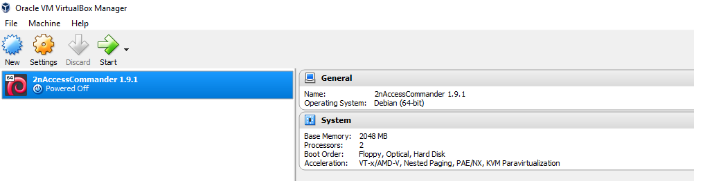 Software Upgrade from Access Commander 1 9 1 to Access