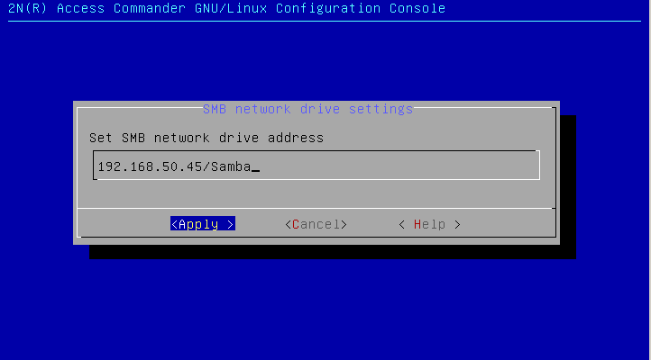 Backup and restore of settings in 2N® Access Commander - FAQ - 2N WIKI
